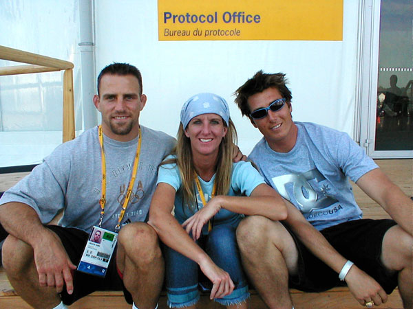 Heath Me Jonny moseley NBC Olympics Sydney 2000 Nicolay Sports and entertainment production