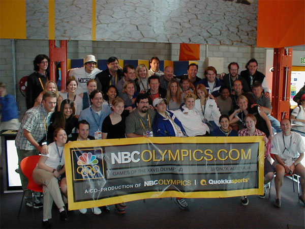 NBC Olympics Sydney 2000 Nicolay Sports and entertainment production