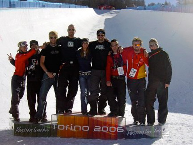Nicolay Sports + entertainment Torino winter olympics snowboard SPteam