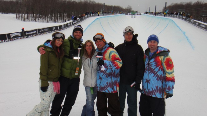 Burton US Open snowboarboarding NIcolay Sports entertainment productions