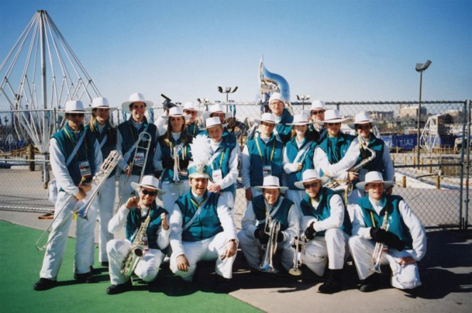 olympic spirit marching band Nicolay Sports entertainment