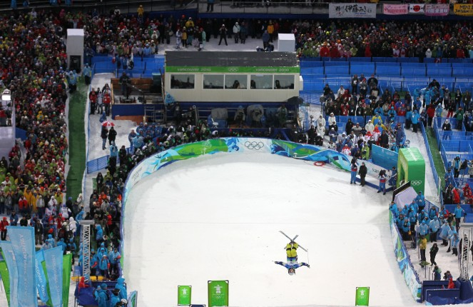 Freestyle Skiing Vancouver Olympics 2010 Nicolay sports