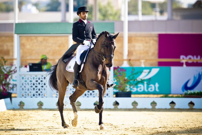Nicolay sports + entertainment Arab Games equestrian