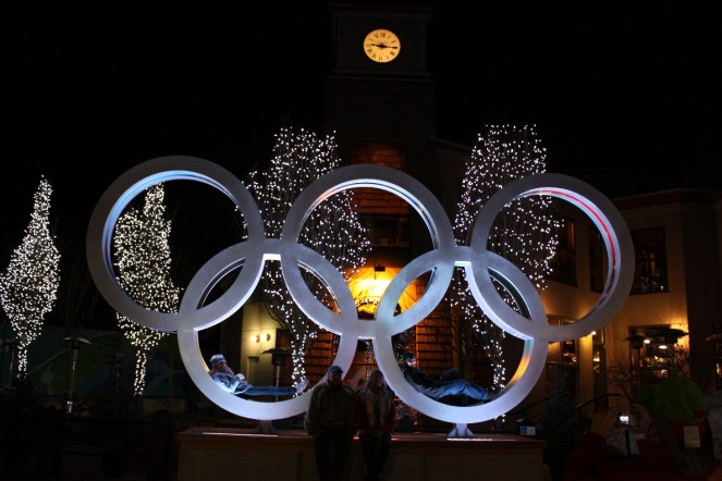 olympic rings Vancouver Olympics 2010 Nicolay sports