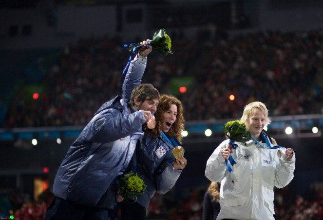 Nicolay Olympics 2010 Shaun White 2 gold Vancouver medals