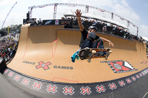 Tony Hawk x games Nicolay Sports