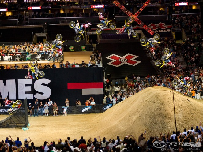 Travis Pastrana double backflip x games Nicolay Sports